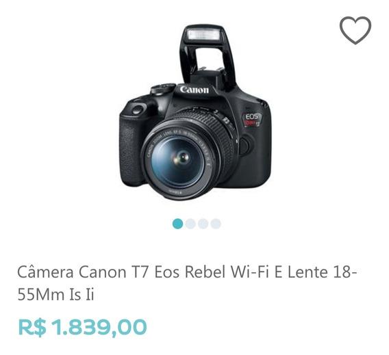 Troco Por Tv Ou Vendo Câmera Profissional Conon