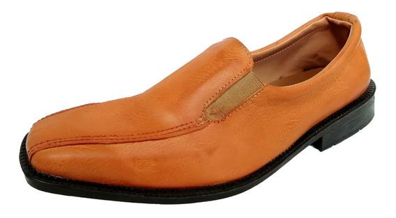 Zapatos Hombre Charol S/ Cuero Elastico O Cordon
