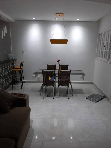 Casa Em Condomínio Fechado À Venda, 70 M² Por R$ 450.000 - Jardim Testae - Guarulhos/sp - Ca0076