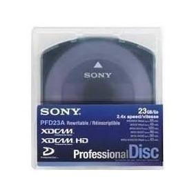 Discos Xd-cam Sony - 23 Gb - Usado