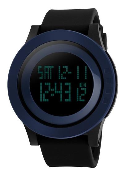 Relógio Masculino Sport Digital Preto Wr50m Skmei 1142