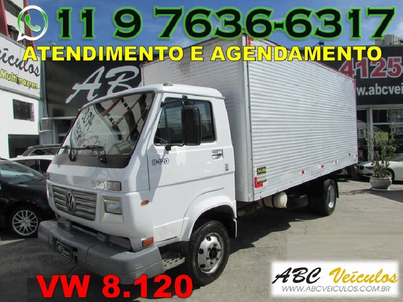 Caminhão Vw 8.120 Baú De Aluminio Ano 2004 Bem Conservado