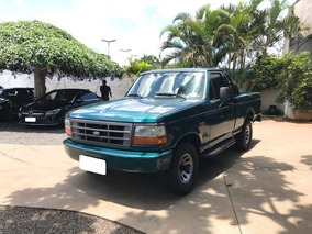 Ford F-1000 4.3 Xl Verde 4x4 Cs Turbo Diesel