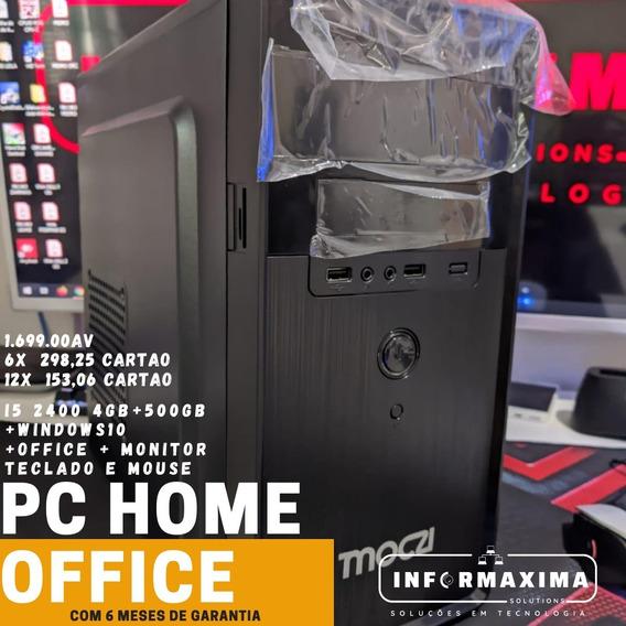 I3 2400 2g 4gb + Hd500 + Windows 10 + Pacote Office