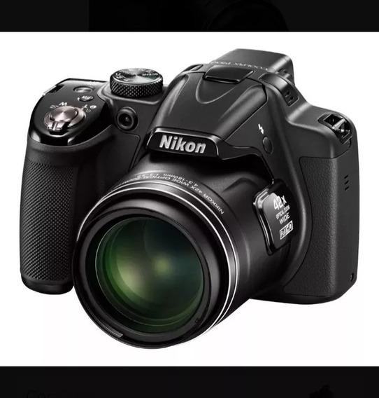 Nikon Coolpix P530 16.1mp Câmera Digital Tela 3 Preto
