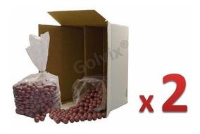 4000 Balas / Paintballs / Capsulas Gotcha 2 Cajas De 2000 Pz