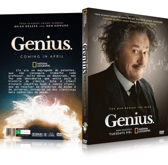 Box Genius A Vida De Albert Einstein [ Legendado ]