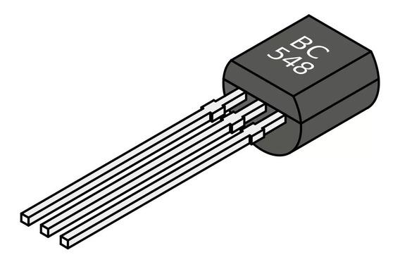 Pack 10 Unidades De Transistor Bc548 - Electroship
