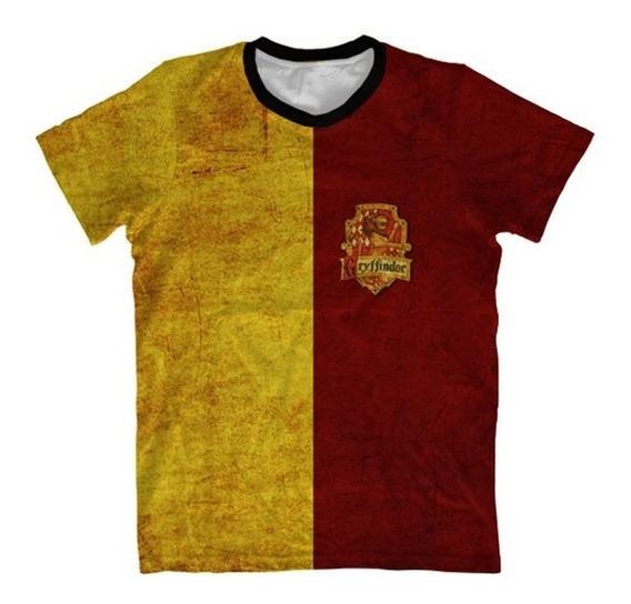 Camisa Infantil Harry Potter - Camiseta Grifinoria Metade
