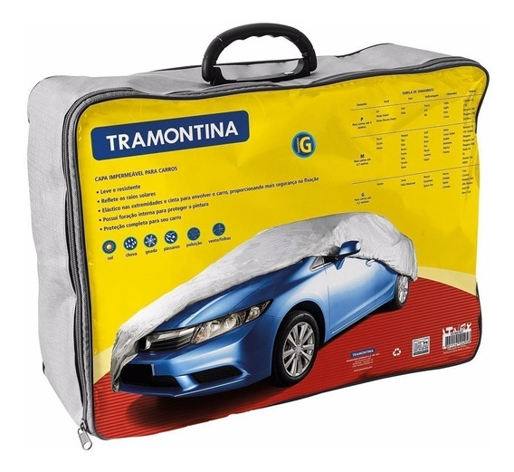 Capa Impermeavel Para Carros - Tamanho G - Tramontina