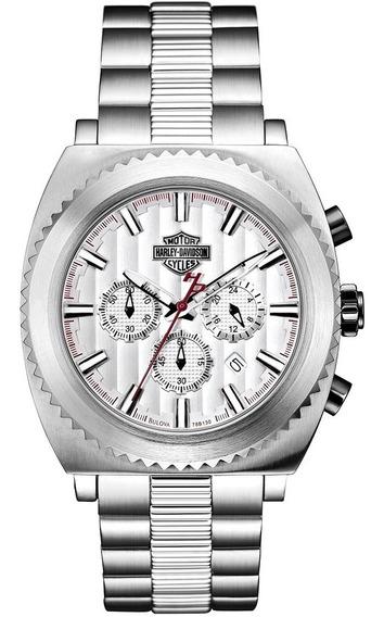 Reloj Harley Davidson 78b130 Tienda Oficial Bulova
