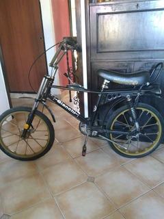 Bicicleta Asiento Banana Bianchi Slalom Italiana