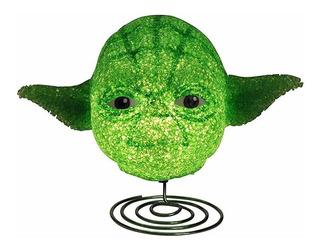 2 Lámparas Goma Eva De Yoda Star Wars.