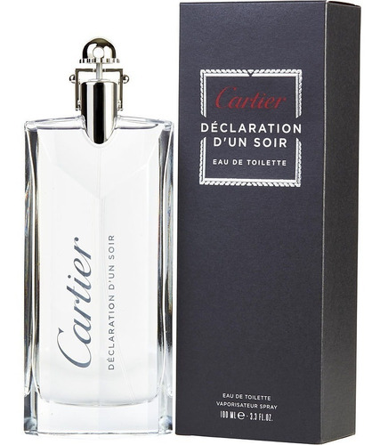 Perfume Locion Declaracion De Un Soir 1 - L a $2200