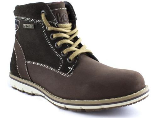 Imagen 1 de 1 de Zapato Bota Casual Lee Hombre - 102l-1