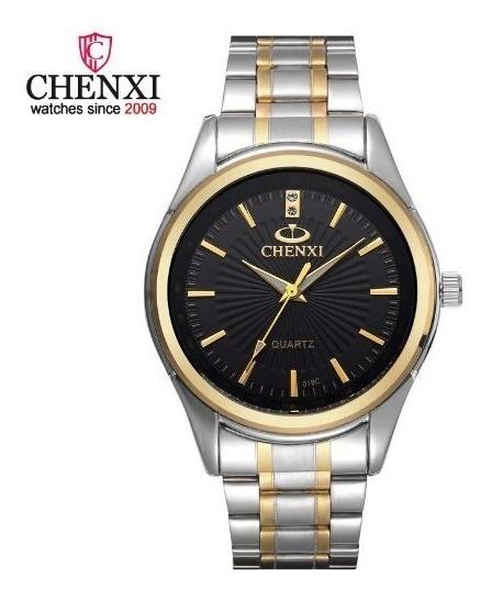 Relógio Masculino Chenxi Aço Inox Prova D