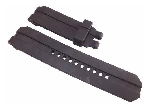 Pulseira Oakley Uhr Stealth Gearbox Preta 21mm