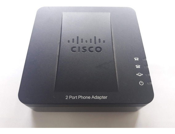 Cisco Gateway Spa 112 1 Lan 2 Fxs Voip, Con Su Fuente