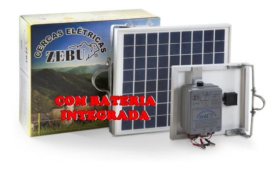 Eletrificador Solar Cerca Rural 50km Zebu Bateria Interna 2j