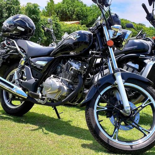 Imagem 1 de 6 de Moto Haojue_ Road Chopper 150cc