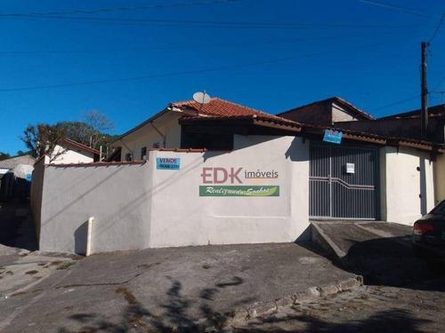 Imagem 1 de 12 de Casa Com 2 Dormitórios À Venda, 151 M² Por R$ 265.000,00 - Vila São João (são Silvestre) - Jacareí/sp - Ca6358