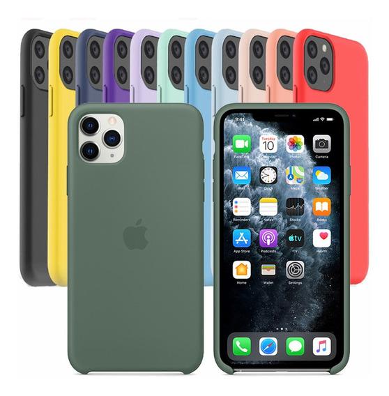 Funda iPhone 11 Pro Silicon Carcasa Original 100% Apple
