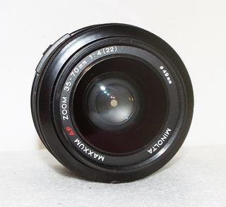 Lente Minolta Para Sony 35-70mm F/ 1:4 Macro Montura A
