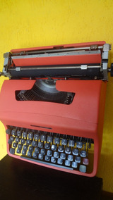 Máquina Escrever Olivetti Lettera 32 - Revisada !!