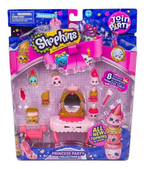 Shopkins Série 7 Super Festa Coleção Festa Da Princesa Dtc