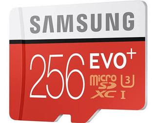 Cartão Memória Samsung 256gb Evo Plus (lacrado)