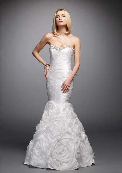 Vestido De Noiva Sereia Alyce 38