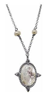 Collar + Dije Cristal Plata 950 Finart (nuevo) Envío Gratis