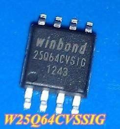 Winbond 25q64bvsig - 25q64 - W25q64bvsig - Virgem