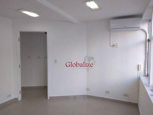 Sala Para Alugar, 40 M² Por R$ 1.900,00/mês - Gonzaga - Santos/sp - Sa0039