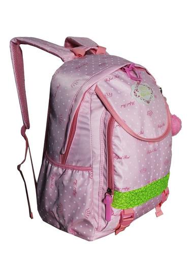 Imagem 1 de 6 de Mochila Escolar Feminina Juvenil Notebook Infantil Pompom Escolar Costas H7