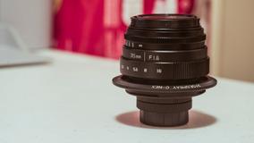 Lente 35mm F1.6 Sony E Mount - Macro