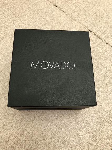 Hermoso Movado Museum De Caballero Version 40mlm Black Dial