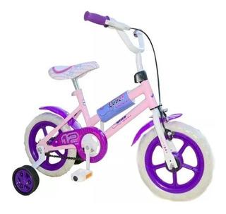 Bicicleta Kids Rodado 12 Reforzadas R12 Freno Piñon Libre