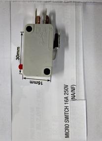 Chave Micro Switch Para Microondas 16a 250v Ac 3 Terminais