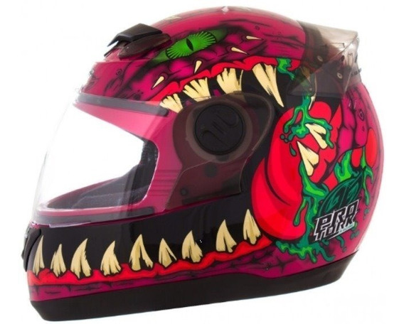 Capacete Evolution G5 60 Dragon Rosa - Tork