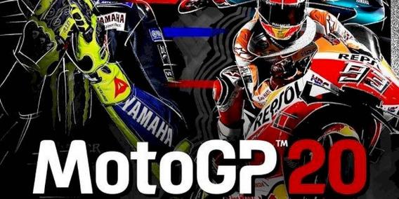 Motogp 20 + 2 Jogos Gratis ( Mídia Física) Pc - Dvd