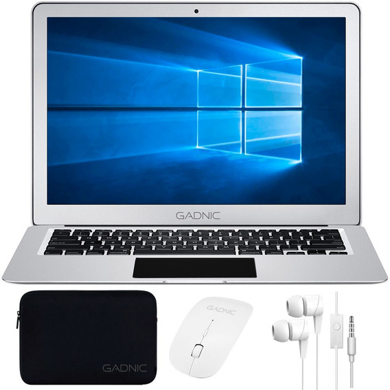 Notebook Cloudbook Gadnic 14 Intel Windows 10 32gb Ssd + Funda Gratis