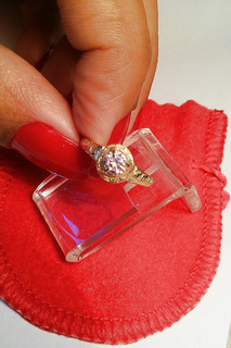 Anel Formatura Feminiino Infantil Prata 950 C Banho Ouro 18k