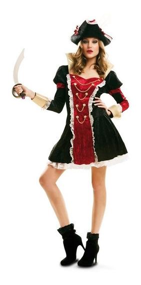 Disfraz Pirata Real De Luxe Mujer Adulto Talla S Halloween