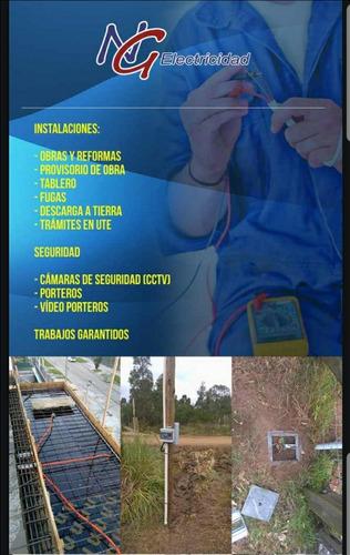 Electricista Técnico Aut.ute Instalaciones Camaras Alarma
