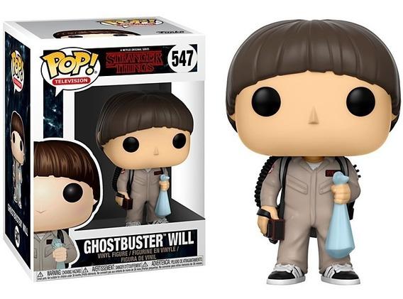 Funko Pop! Stranger Things Ghostbuster Will #547 Netflix