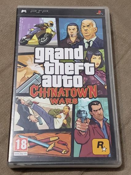Gta Chinatown Wars Psp Umd Original Sony