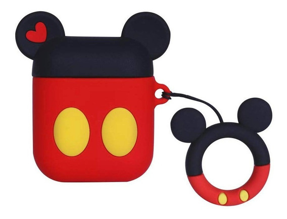 Capa Para AirPods Capa Mickey Case AirPods Capinha Para Fone De Ouvido Mickey Case Mickey