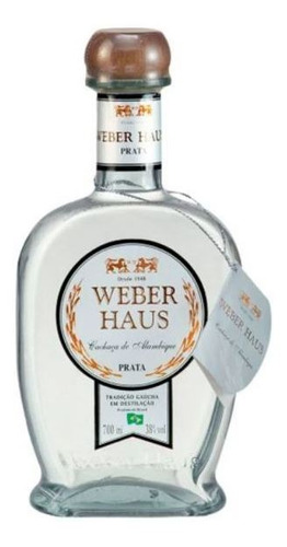 Cachaça Weber Haus Orgânica Prata 750ml