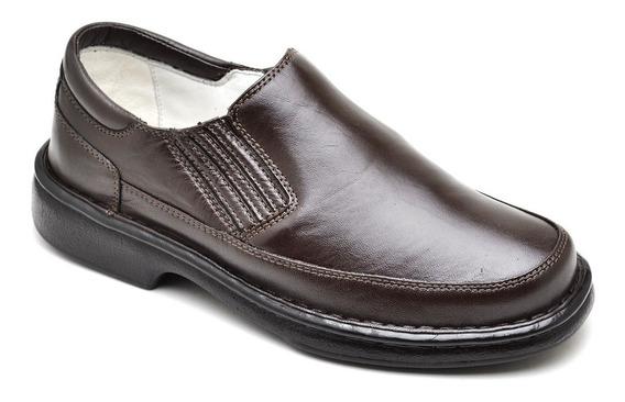 Sapato Masculino Semi Ortopédico Palmilha Gel Confort 2009